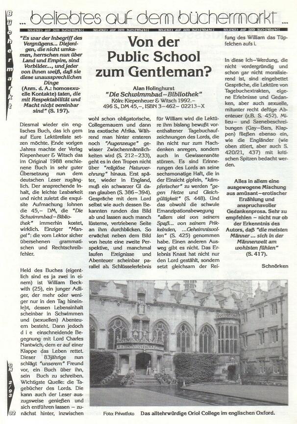 Gay News - die Große aus Ostdeutschland